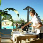 case vacanze a roseto fronte mare con servizio bar e ristorante